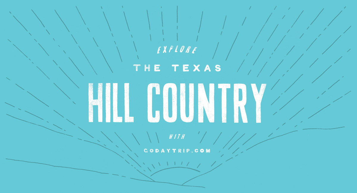Illustration of the hill country